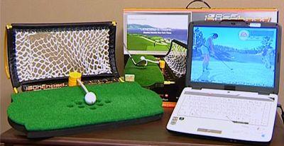 Golf Launchpad Simulator แบบพกพา  น่าสนใจมากค่ะ