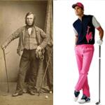พัฒนาการเสื้อผ้านักกอล์ฟสู่รุ่น